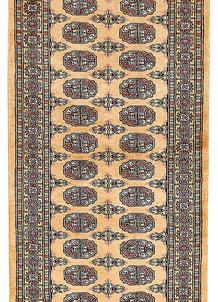 Moccasin Bokhara 2' 7 x 12' 2 - No. 46962