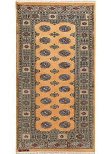 Moccasin Bokhara 3' 3 x 6' - No. 47233