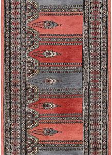 Multi Colored Prayer 2' 1 x 5' 11 - No. 47448