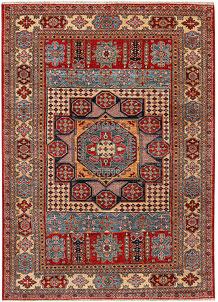 Multi Colored Kazak 4' 11 x 6' 11 - No. 47902