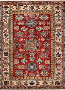 Firebrick Kazak 4' 11 x 6' 6 - No. 47924