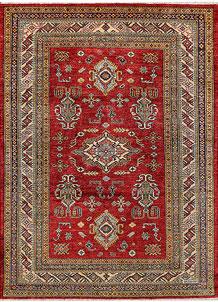 Firebrick Kazak 4' 11 x 6' 11 - No. 47925