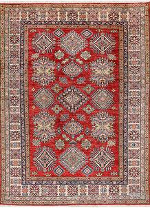 Firebrick Kazak 4' 11 x 6' 8 - No. 47930