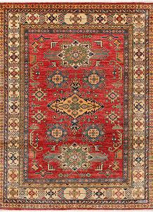Indian Red Kazak 5' x 6' 6 - No. 47932
