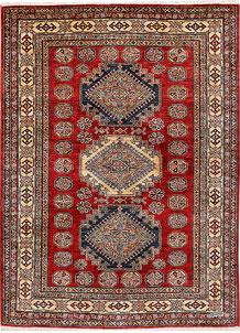 Firebrick Kazak 4' 11 x 6' 9 - No. 47934