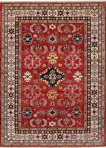 Firebrick Kazak 4' 11 x 6' 9 - No. 47937