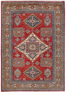 Firebrick Kazak 4' 11 x 6' 11 - No. 47938