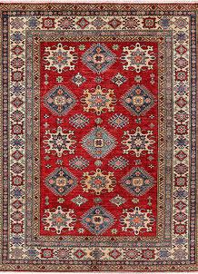 Firebrick Kazak 5' 1 x 6' 5 - No. 47940