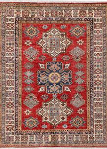 Firebrick Kazak 5' x 6' 2 - No. 47948