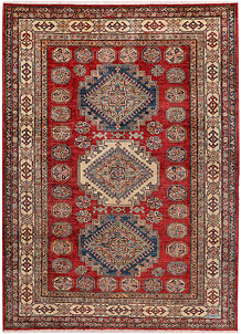 Dark Red Kazak 4' 11 x 6' 9 - No. 47955