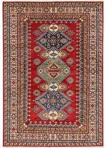 Firebrick Kazak 4' 9 x 6' 10 - No. 47956