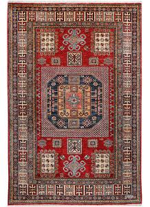 Firebrick Kazak 4' 7 x 7' - No. 47962