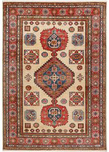 Wheat Kazak 5' 1 x 7' 3 - No. 47963