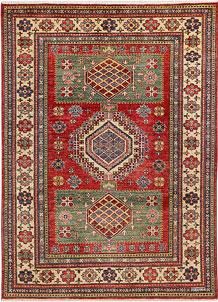 Firebrick Kazak 4' 10 x 6' 9 - No. 47966
