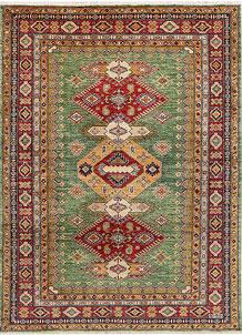 Olivedrab Kazak 4' 9 x 6' 6 - No. 47968