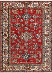 Firebrick Kazak 5' x 6' 7 - No. 47971