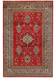 Firebrick Kazak 4' 10 x 7' 3 - No. 47972
