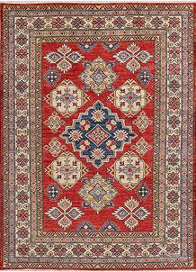 Firebrick Kazak 4' 10 x 6' 7 - No. 47974