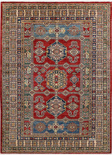 Dark Red Kazak 4' 9 x 6' 6 - No. 47982