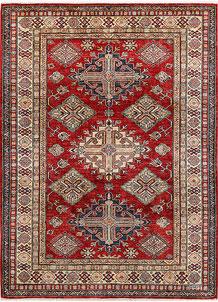 Firebrick Kazak 4' 11 x 6' 8 - No. 47984