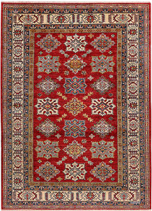 Firebrick Kazak 4' 9 x 6' 8 - No. 47987