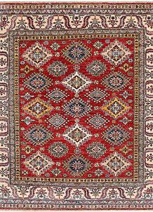 Firebrick Kazak 5' x 5' 5 - No. 47989