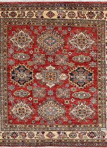 Firebrick Kazak 4' 11 x 5' - No. 47993