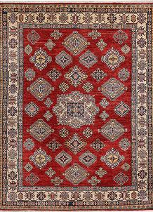Firebrick Kazak 6' 1 x 7' 11 - No. 48002