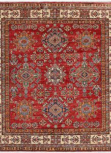 Firebrick Kazak 5' 9 x 5' 9 - No. 48005