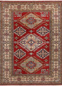 Dark Red Kazak 6' 1 x 8' - No. 48009