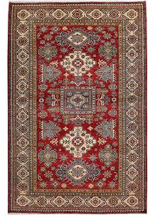 Dark Red Kazak 6' x 9' 3 - No. 48011