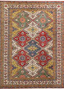 Multi Colored Kazak 8' x 10' 9 - No. 48020