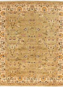 Dark Khaki Mahal 8' 1 x 10' 3 - No. 52534