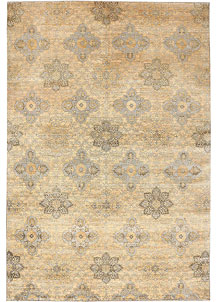 Burlywood Ikat 9' 6 x 14' 1 - No. 52569