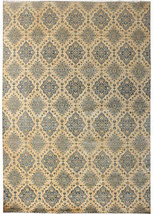 Tan Ikat 10' x 14' 2 - No. 52572