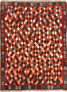 Multi Colored Baluchi 2' 9 x 3' 8 - No. 54853