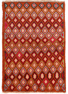 Multi Colored Baluchi 2' 7 x 3' 9 - No. 54863