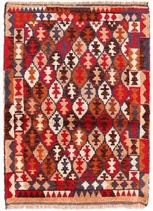 Multi Colored Baluchi 2' 8 x 3' 9 - No. 54871