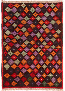 Multi Colored Baluchi 2' 7 x 3' 8 - No. 54897