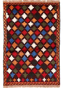 Multi Colored Baluchi 2' 7 x 3' 9 - No. 54938