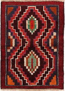 Multi Colored Baluchi 2' 9 x 3' 9 - No. 54941
