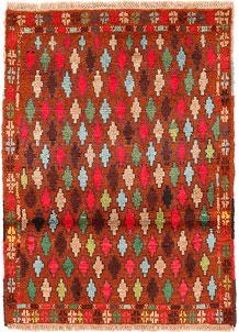 Multi Colored Baluchi 2' 8 x 3' 8 - No. 54943