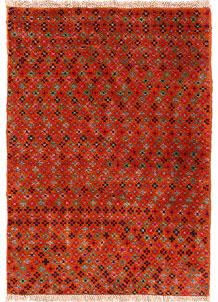 Multi Colored Baluchi 2' 8 x 3' 8 - No. 54964