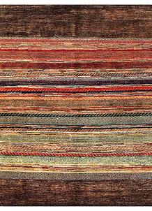Multi Colored Gabbeh 6' 4 x 6' 4 - No. 55967