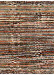 Multi Colored Gabbeh 5' 5 x 5' 9 - No. 56024