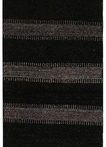 Black Gabbeh 2' 2 x 5' 1 - No. 56149