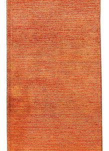 Dark Orange Gabbeh 2' 3 x 10' 5 - No. 56199