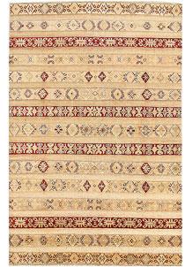 Wheat Gabbeh 6' 6 x 9' 8 - No. 56308