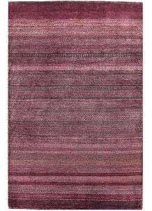 Pale Violet Red Gabbeh 4' 3 x 6' 7 - No. 56388
