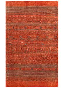 Orange Red Gabbeh 3' x 4' 11 - No. 56450